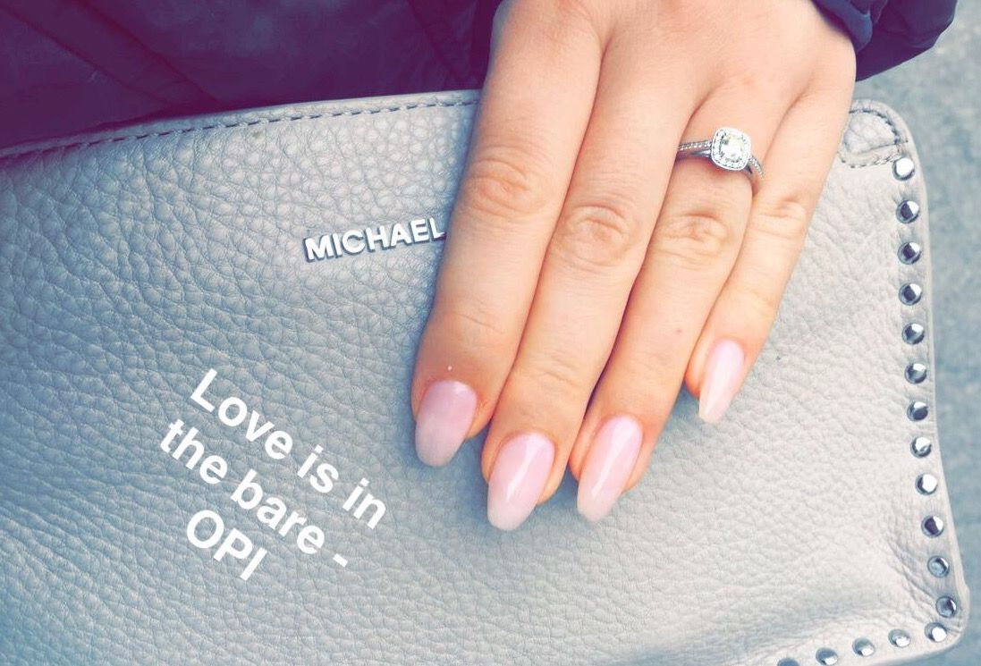 Love Is In The Bare Opi Gel Nails Opi Gel Nails Fancy Nails Nails Inspiration
