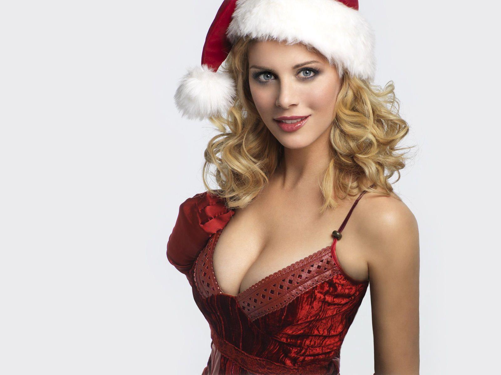 playboy christmas wallpapers   Eva Habermann, Celebrity