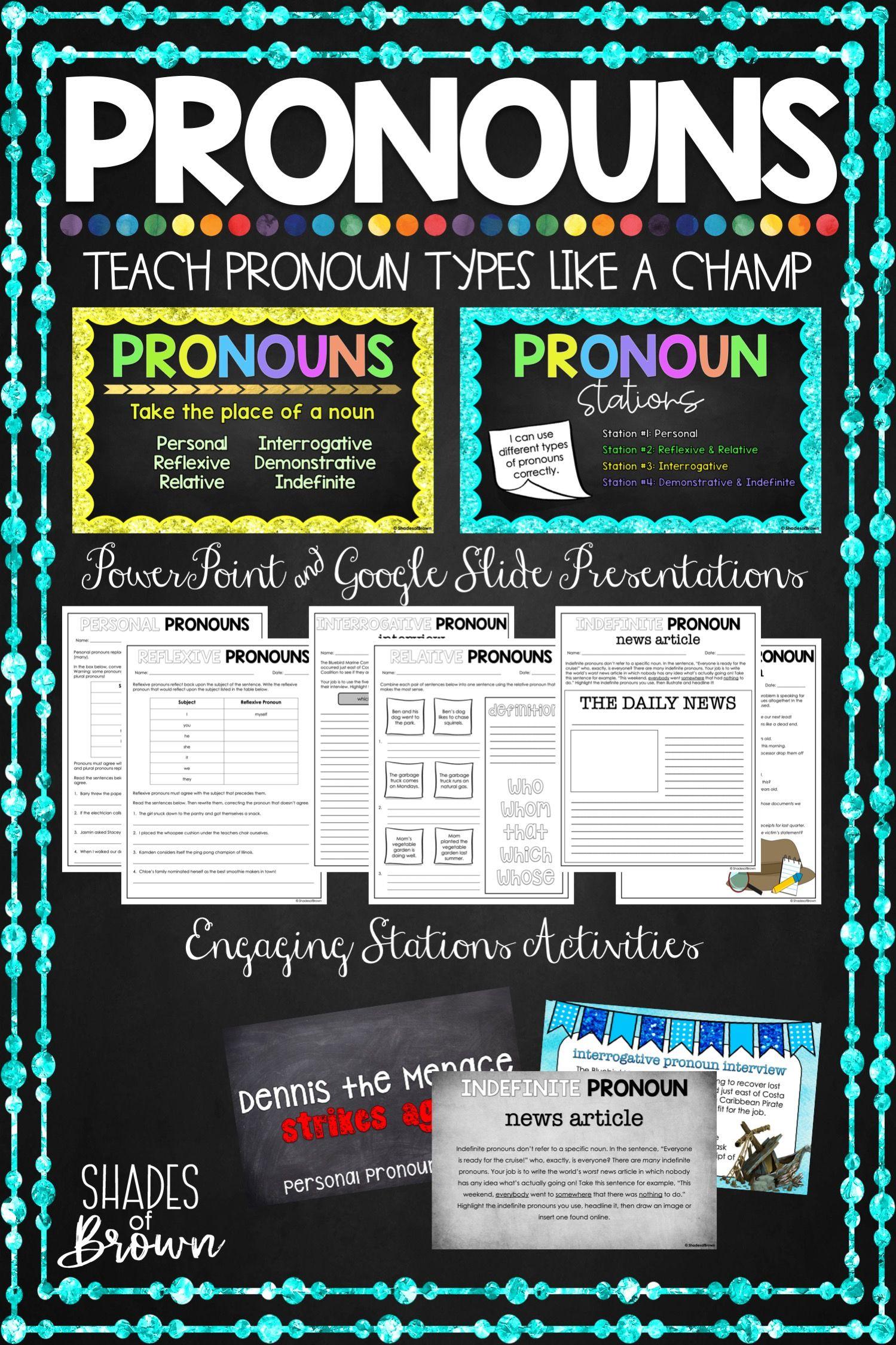 Teach Pronouns Like A Champ