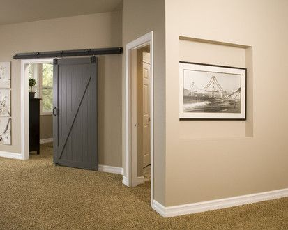 Basement Remodel, Modern Basement, Seattle