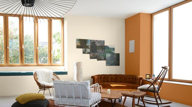 Peinture salon  12 idées de couleur pour le séjour Salons, Warm