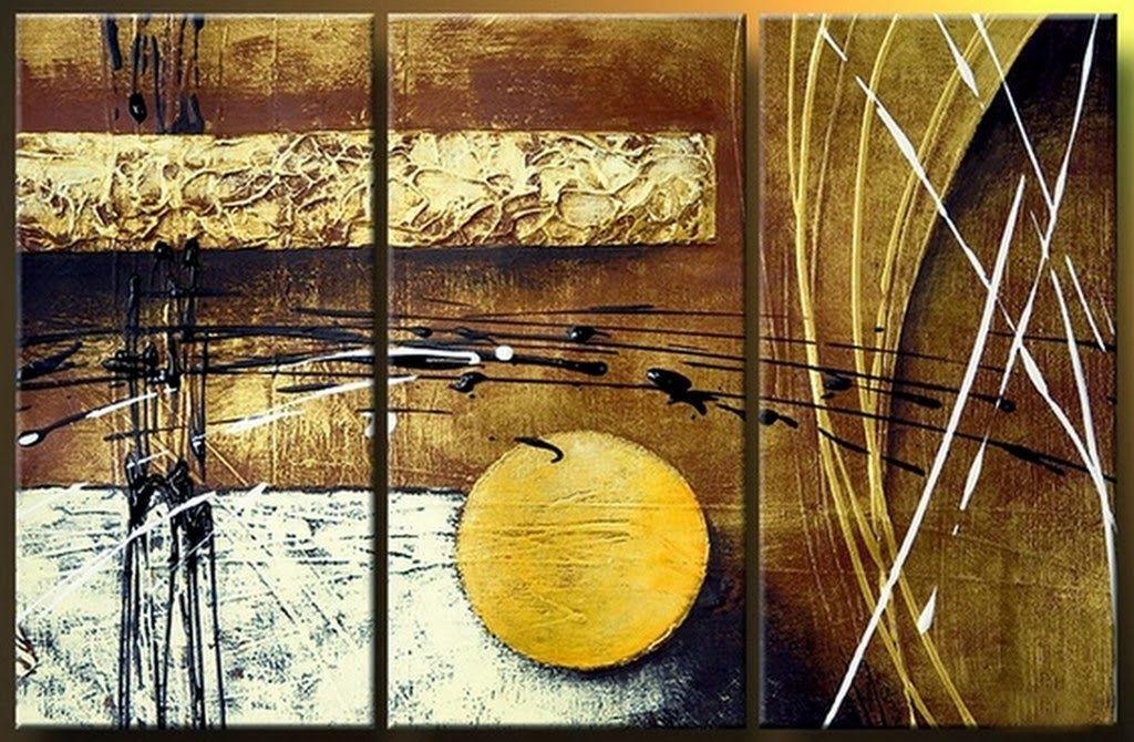cuadros abstractos tripticos modernos cuadros