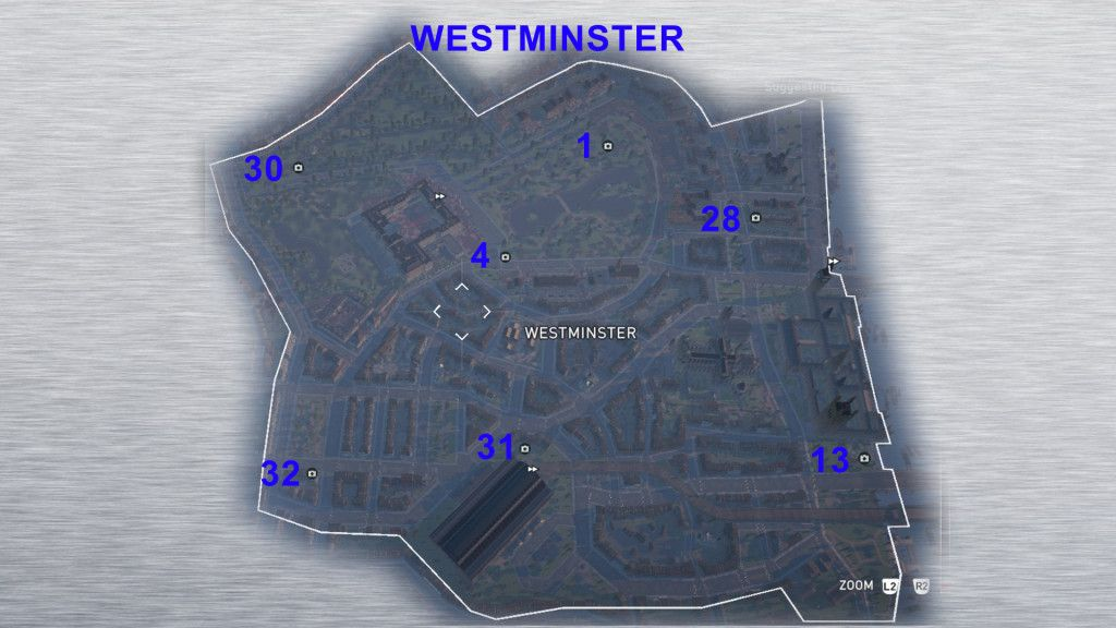 Assassin S Creed Syndicate Godlike Secrets Of London Maps