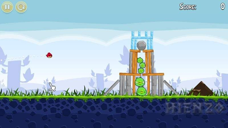 Some versions of the game Angry Birds began to appear as early as 2009. The first version is a very standard version where the game is still using an easy target. http://www.hienzo.com/2015/11/angry-birds-game-free-download.html