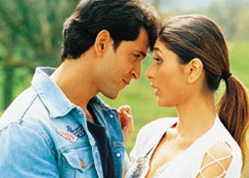 Hrithik Roshan And Kareena Kapoor In Mujhse Dosti Karoge Filme