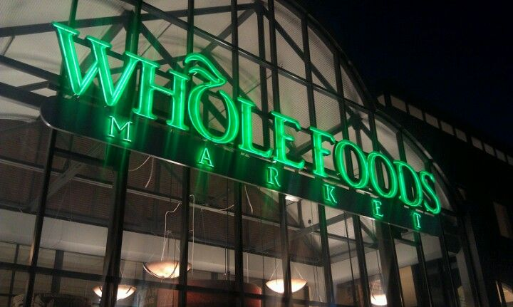Dinner groceries at whole foods market whole food
