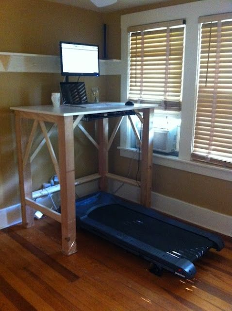 DIY Walking Desk Example curated by workwhilewalkingcom Do It
