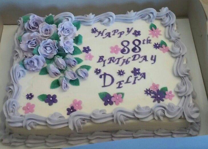 Birthday sheet cake birthday sheet cakes pretty