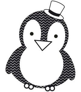 "Kaisercraft Mini Clear Stamp 2.25""X3""-Penguin : stamps : stamping : scrapbooking :  Shop 