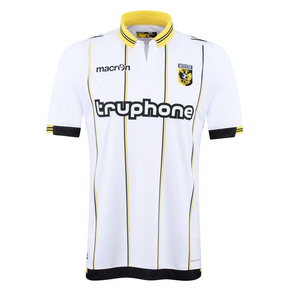 SBV Vitesse (Netherlads) - 2015/2016 Macron Away Shirt   Football ...