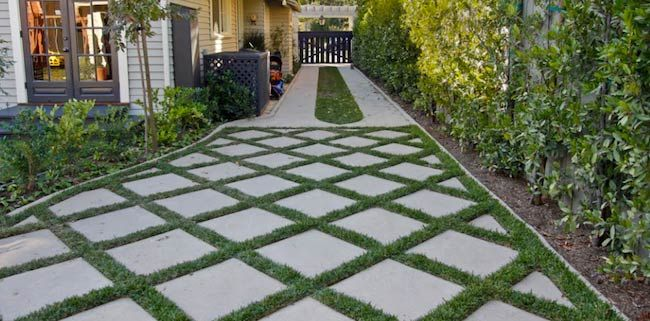 Low Maintenance Front Garden Ideas Driveways Walkways