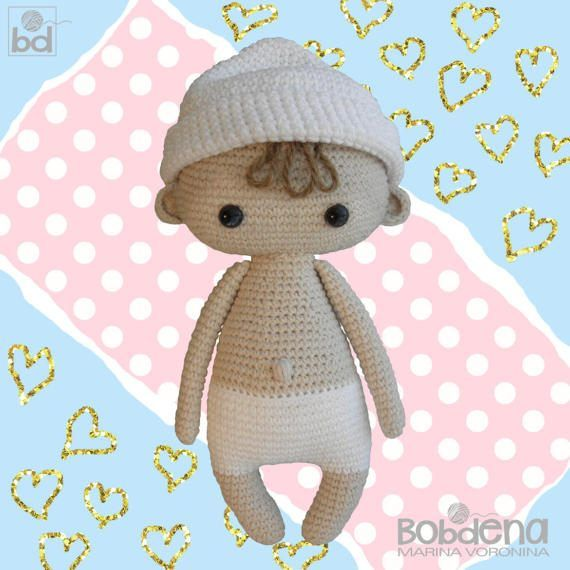 crochet pattern dollBaby John the doll crochet patterndoll | muñecas ...