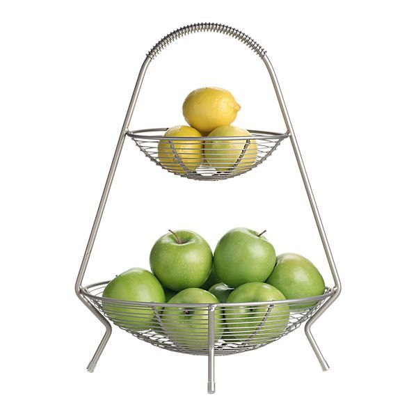 Two-Tier Fruit Basket $26