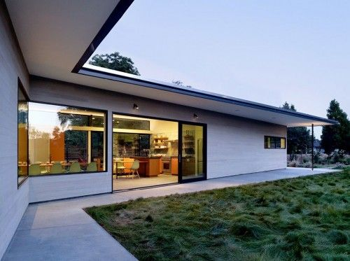 Modern L Shaped House Simple Plan Design With Many Benefits Architecture House Roof Design Ranch House Exterior