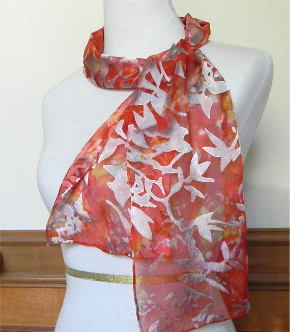 Pin By Pretty Byrd Designs On Shops Of The Day Spst Hand Dyed Silk Scarf Hand Dyed Silk Silk Dyeing
