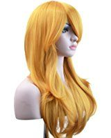 """Ambielly 28"""" Wig Long Curly Wavy Women's Hair Cosplay Costume Wig"""
