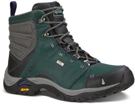 Ahnu Women's Montara Waterproof Hiking Boots New Black 11