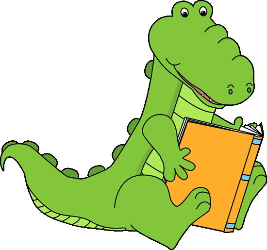 Alligator Reading A Book My Cute Graphics Free Clip Art For Teachers Book Clip Art Clip Art Free Clip Art