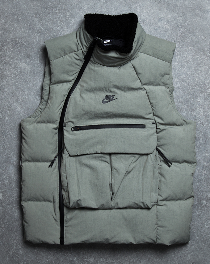 THIS NIKE SPORTSWEAR TECH PACK VEST IS A HIGHSPEC CHILL
