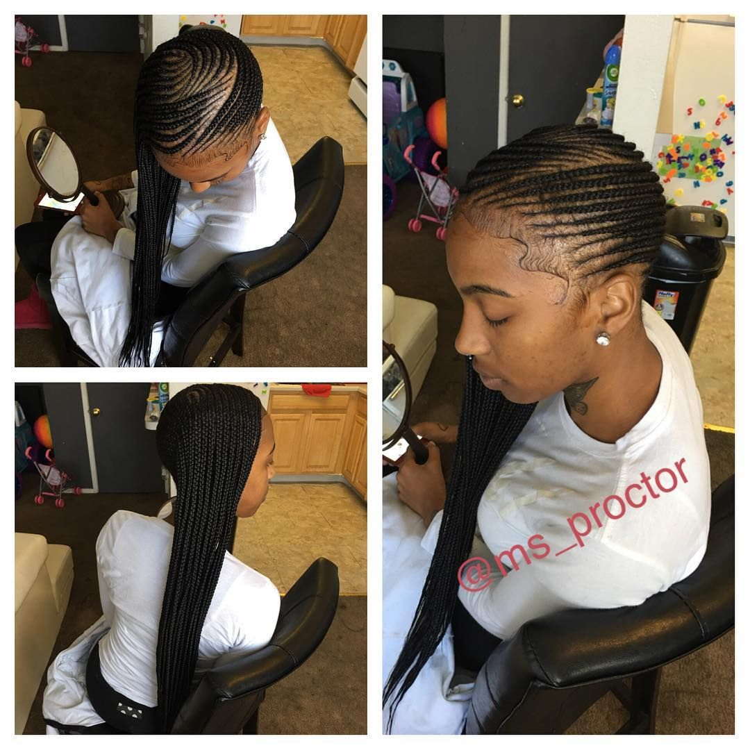 cornrow hairstyles to the side fade haircut