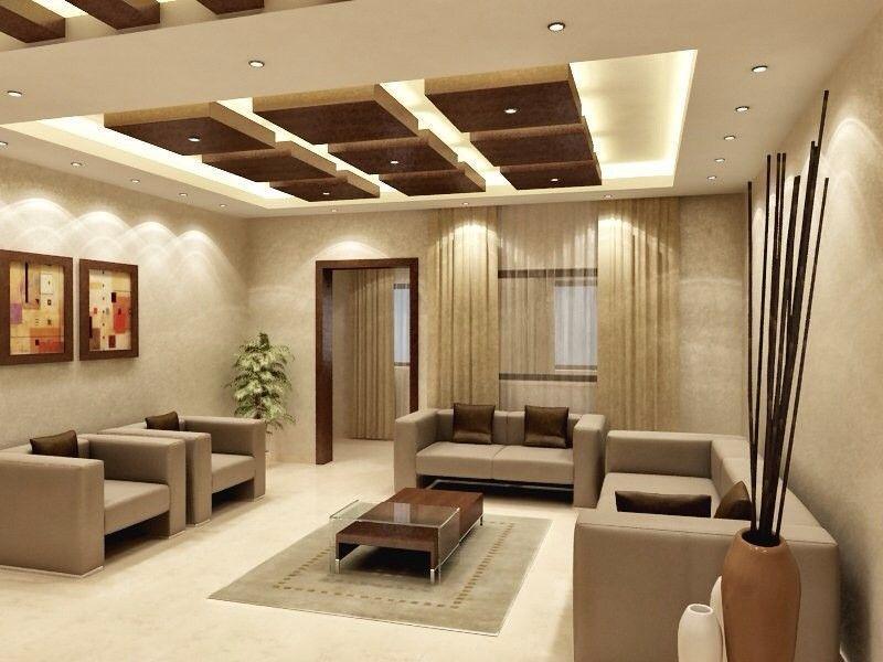 False Ceiling Design Modern round false ceiling bedroom ...