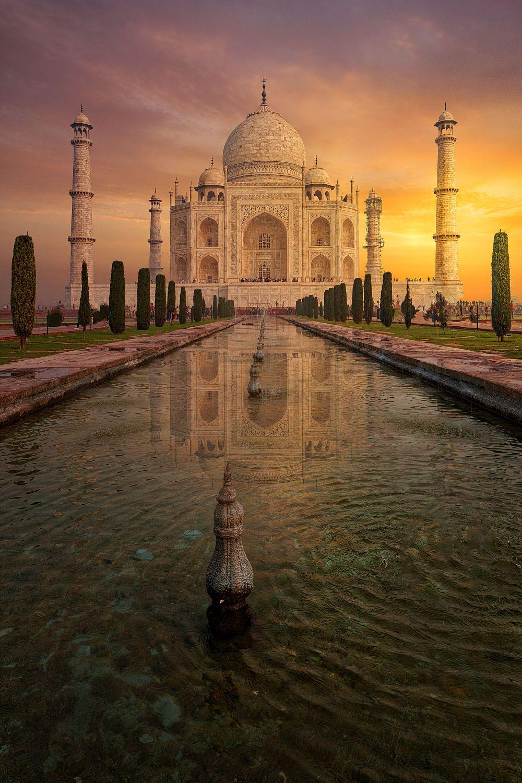 Taj Mahal by Mohammed Abdo on 500px