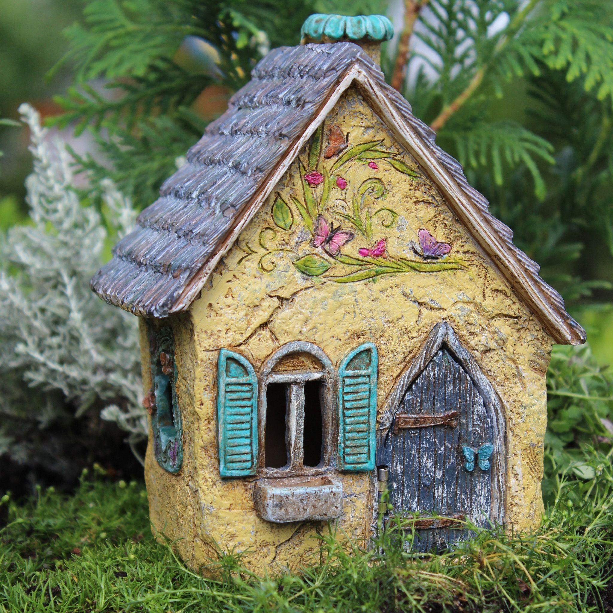 Brookside Fairy Cottage Fairy Garden Miniature House