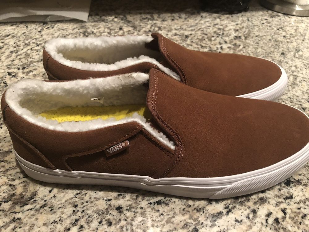 ee6b525e0188 Vans Asher Dx mens sherpa-lined slip on shoe  fashion  clothing  shoes   accessories  mensshoes  athleticshoes (ebay link)