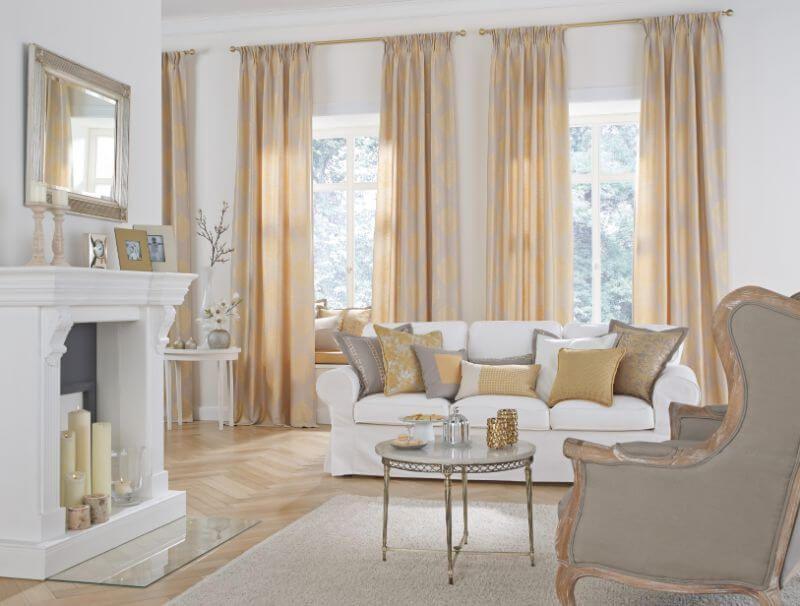 wohnzimmer gardine beige  gardinen wohnzimmer wohnung