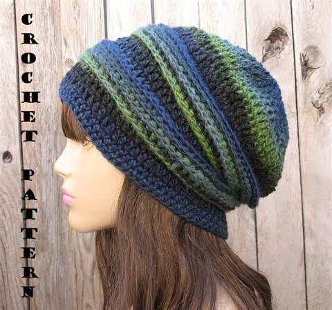 free crochet slouchy beanie patterns for men - Avast Yahoo Image ...