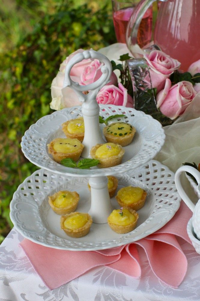 These look tasty and very pretty for spring!