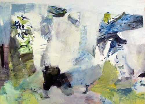 """Boston Painter Barbara Hadden's """"Fearless Sleeper"""""""