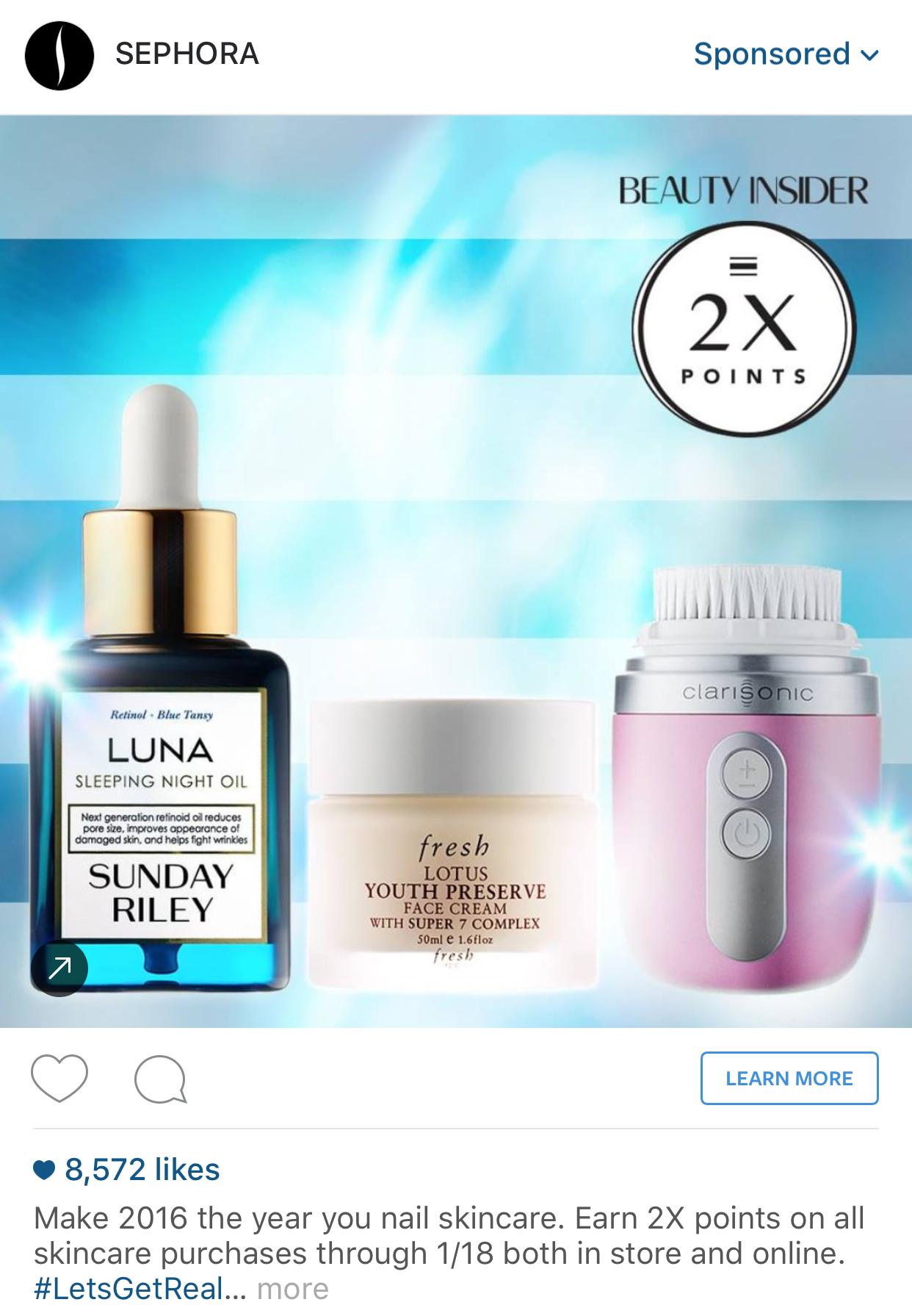 Instagram Ad Examples Instagram Ads Night Oil Instagram