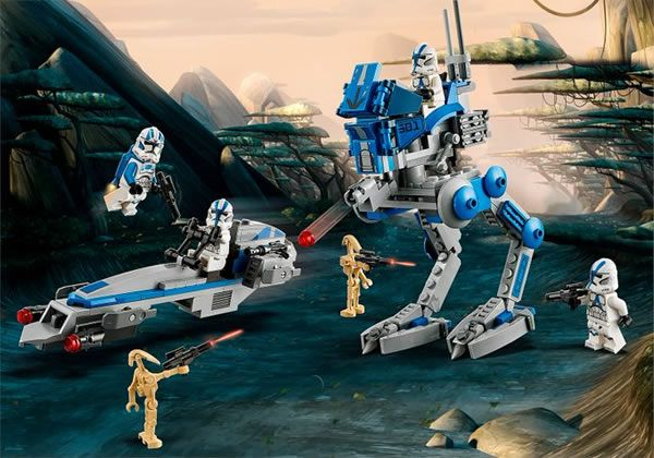 ▷ Nouveauté LEGO Star Wars 2020 : 75280 501st Legion Clone Troopers - HOTH BRICKS