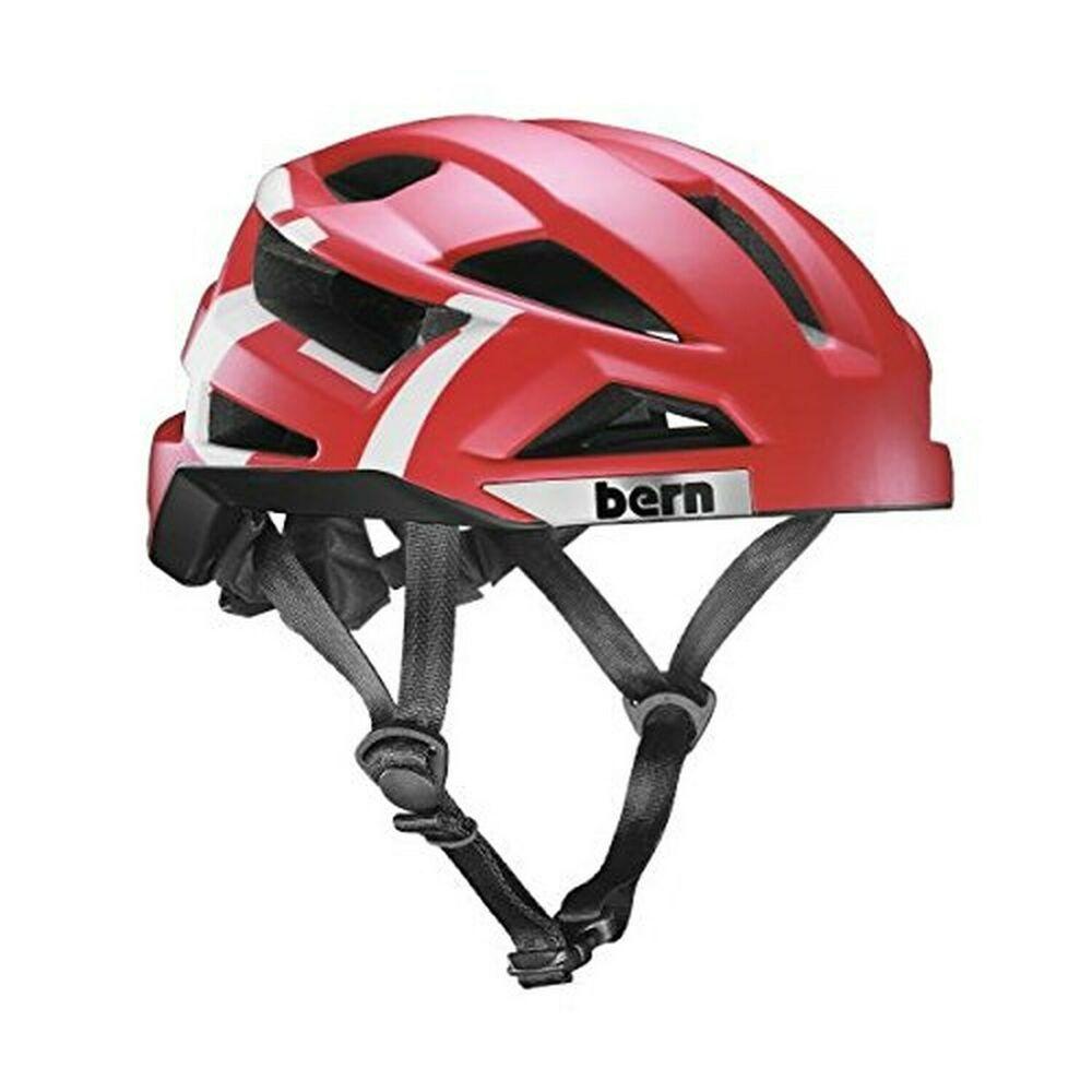 Ad Ebay Bern 2016 Men S Fl 1 Summer Bike Helmet Matte Red Type