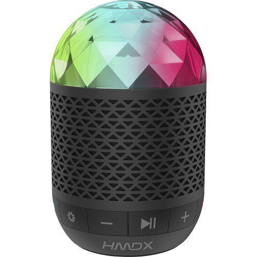 Enlarge HMDX - Daze Portable Bluetooth Speaker - Black. Enlarge HMDX - Daze Portable Bluetooth Speaker - Black.
