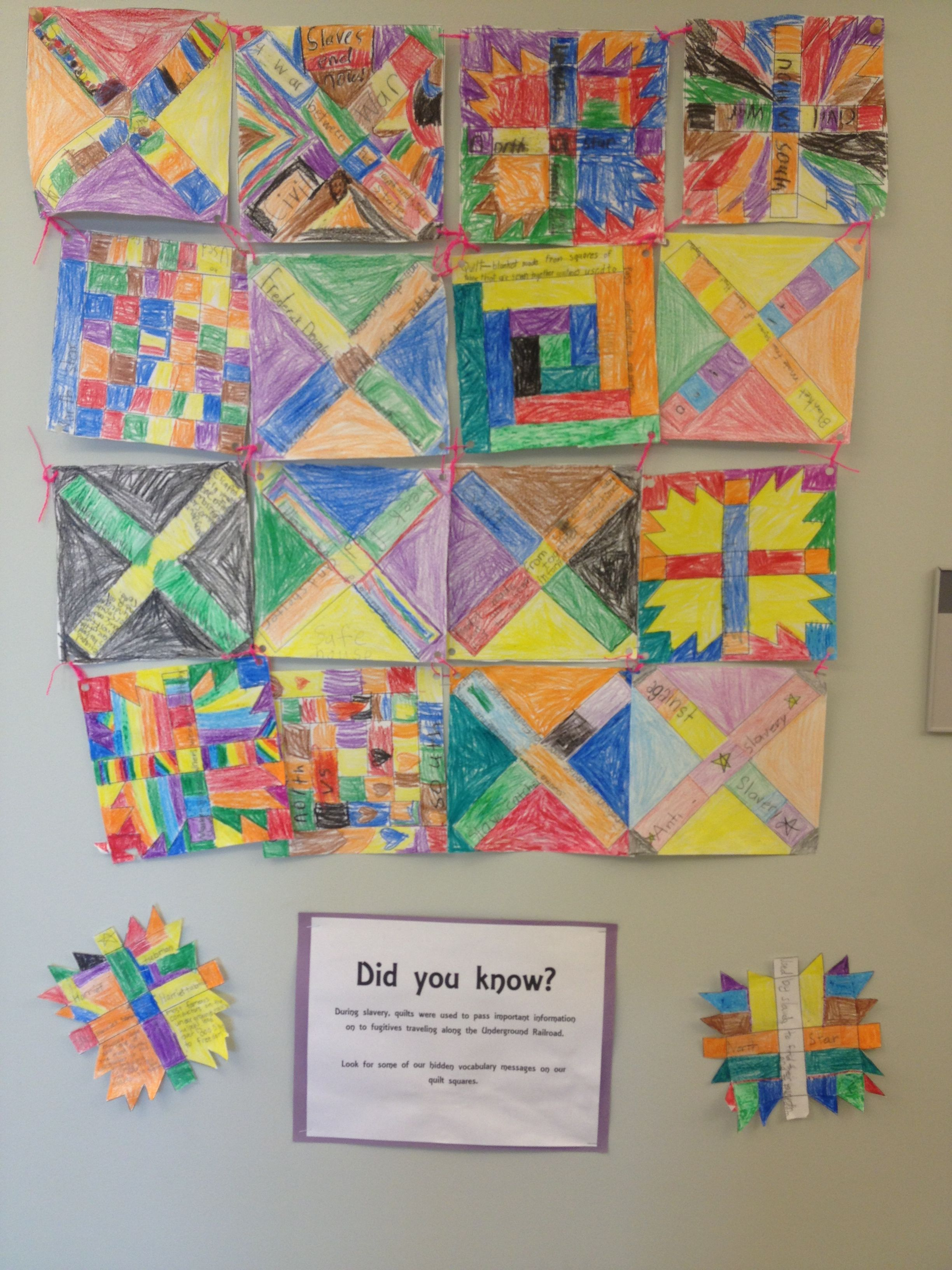 A Black History Month Project Where Kids Design A Quilt