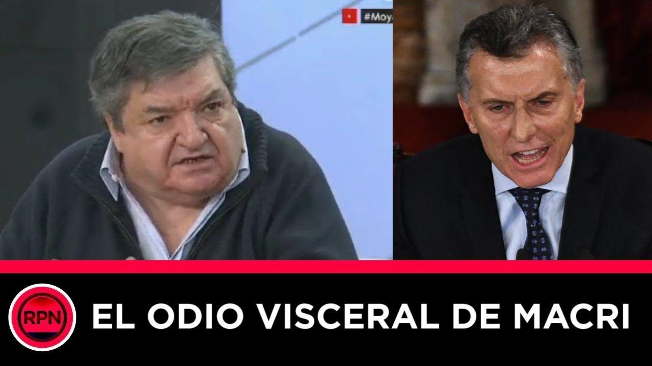 """Ramos Padilla Padre tiró directo al Presidente: """"Tiene un"""