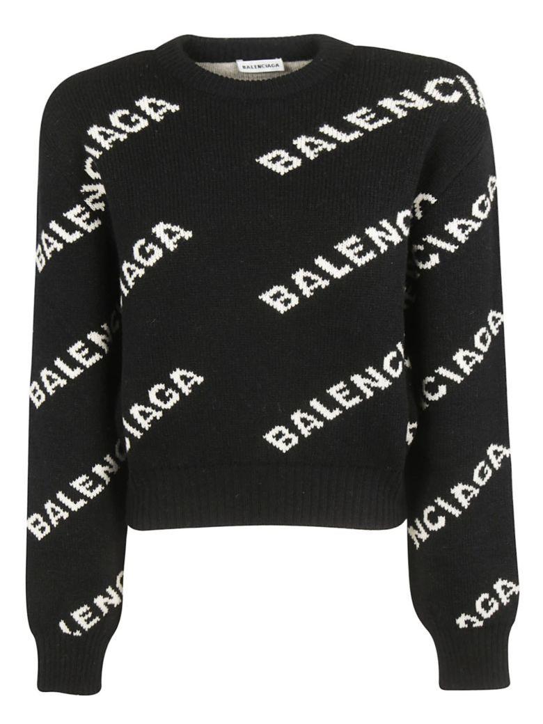 In Balenciaga Balenciaga Logo Sweater 2019Kleding HEDIYeW29