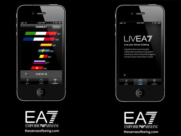 L'EA7 APP: un'esperienza sportiva interattiva