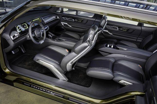 The kia telluride concept suv has our vote also vette   pinterest cars rh