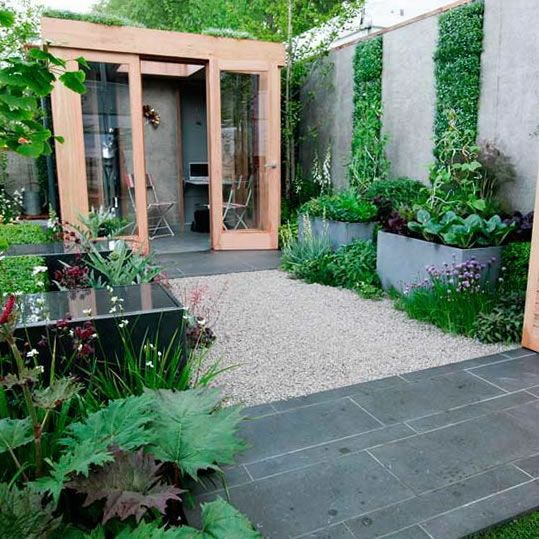Ideas para jardines modernos small gardens gardens and for Jardines de patios modernos