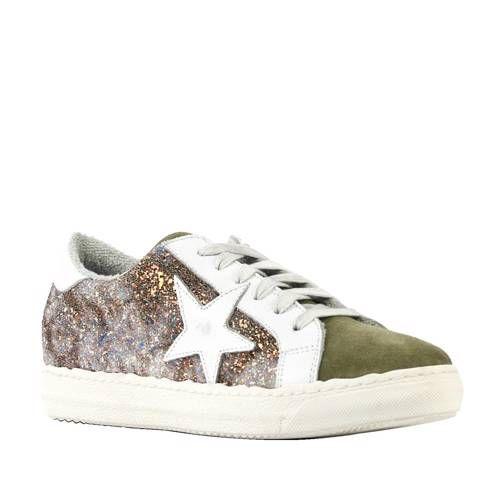 Suède sneakers met glitters Schoenen sneakers, Schoenen en