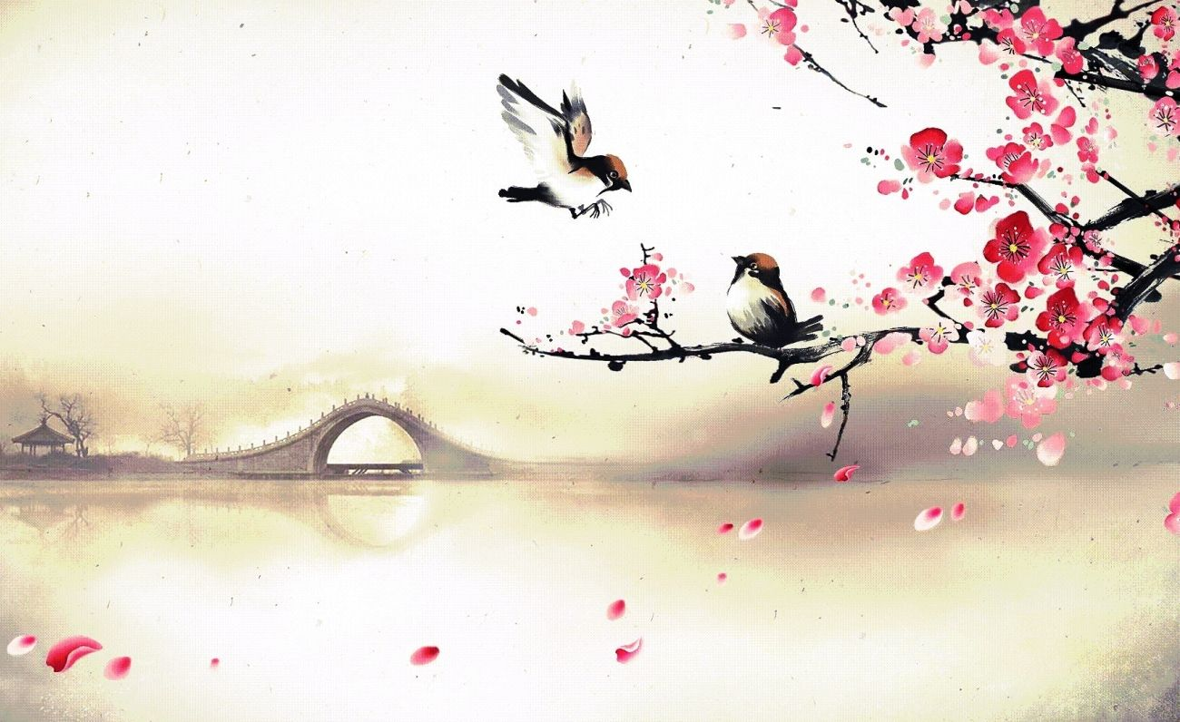 Download Large Cherry Blossom Wallpaper For Retina High Quality Hd Wallpaper In 2k 4k 5k 8k 10k Resolution For Your Desktop Pemandangan Khayalan Gambar Abstrak