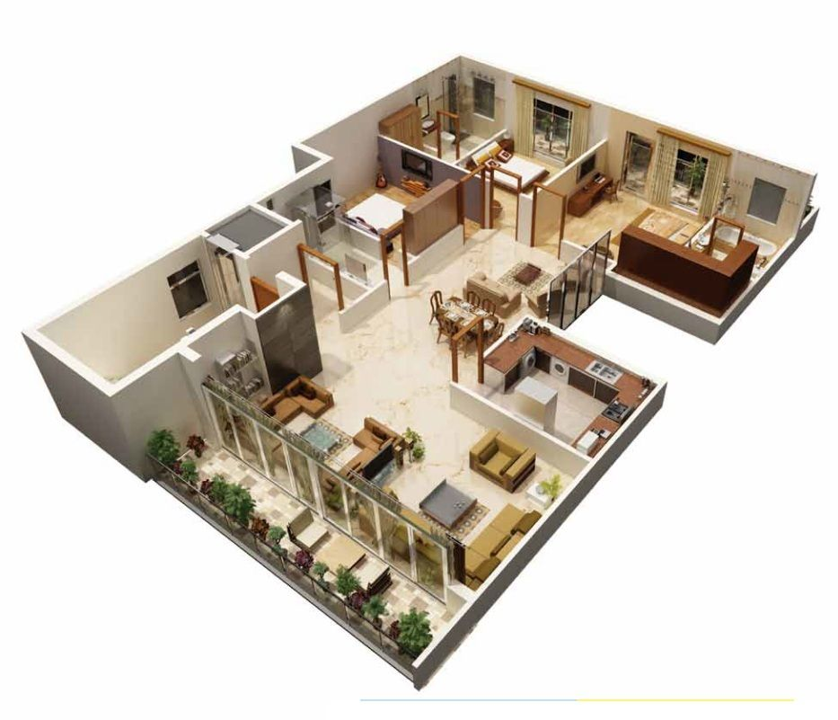 Cosy home Room planner, Entertaining house, 3d house plans