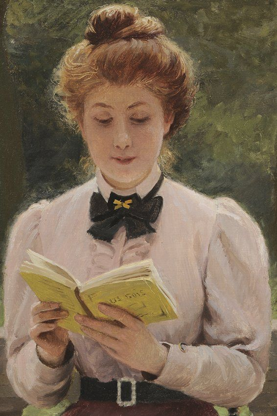 The Athenaeum - The Book (Louis-Emile Adan - ) | Art | Pinterest ...