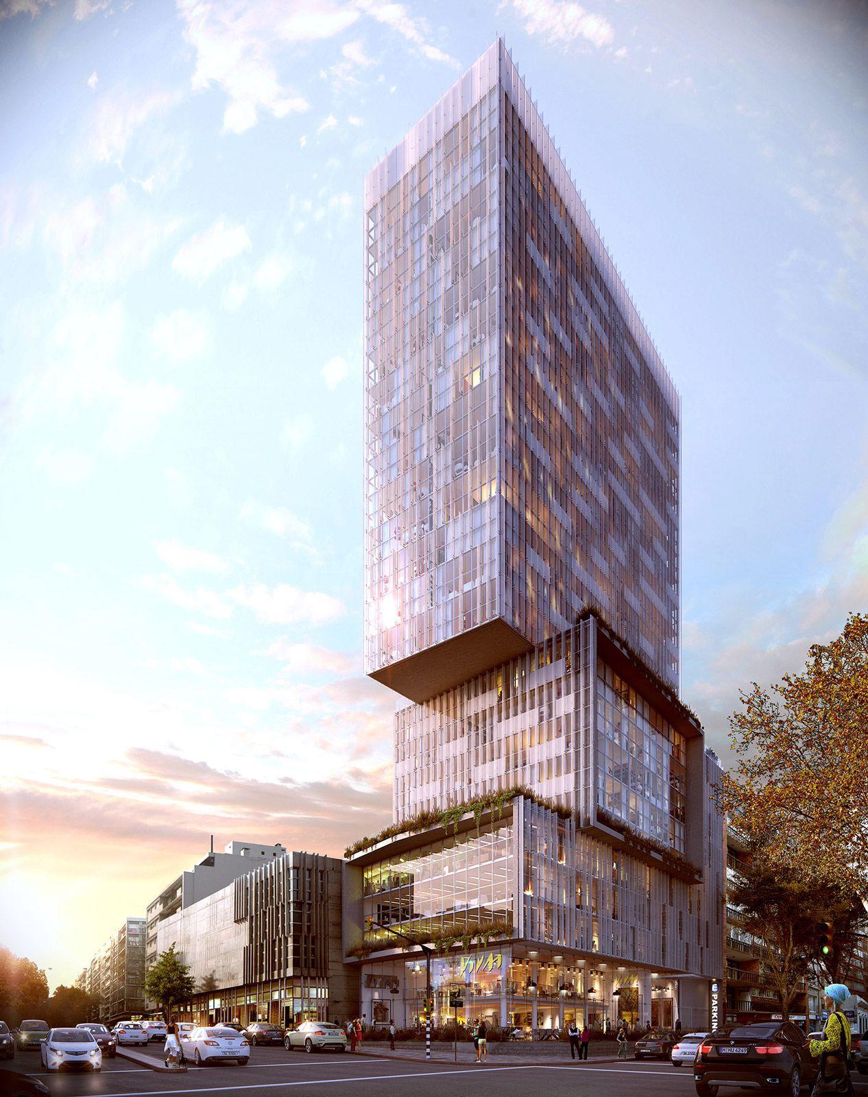 VrayWorld - Brasil Tower Design | #MichaelLouis - www.MichaelLouis.com