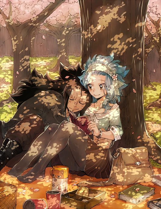Photo of Awww it's another masterpiece of Gajeel and Levy :D  Anime/Manga = Fairy Tail