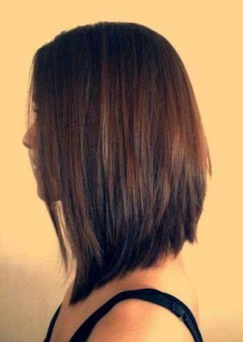 Cortes de pelo largo parte trasera