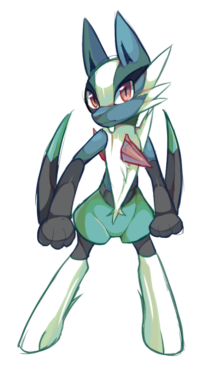 Raikissu Started A Gallade Lucario Or Bisharp Fusion But I Gave Up
